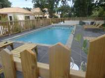 Pause piscine
